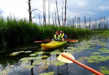 Spływ kajakowy rzeka saska i sawica 5